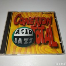 CDs de Música: 0321- CONEXION TOTAL ACID JAZZ - CD - DISCO ESTADO NORMAL. Lote 246645135