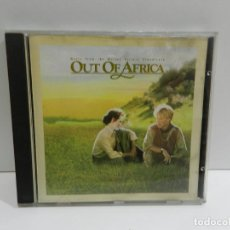 CDs de Musique: DISCO CD. JOHN BARRY – OUT OF AFRICA (MUSIC FROM THE MOTION PICTURE SOUNDTRACK). COMPACT DISC.. Lote 246697535