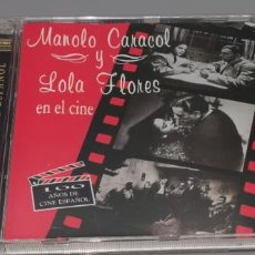 CD de Música: MANOLO CARACOL Y LOLA FLORES EN EL CINE - EMBRUJO + LA NIÑA DE LA VENTA -ESTABA PRECINTADO. Lote 246700130