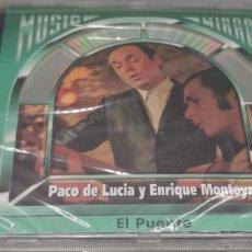 CDs de Música: PACO DE LUCIA Y ENRIQUE MONTOYA - EL PUENTE - CD ALBUM 18 TRACK -SIN DESPRECINTAR. Lote 246736780