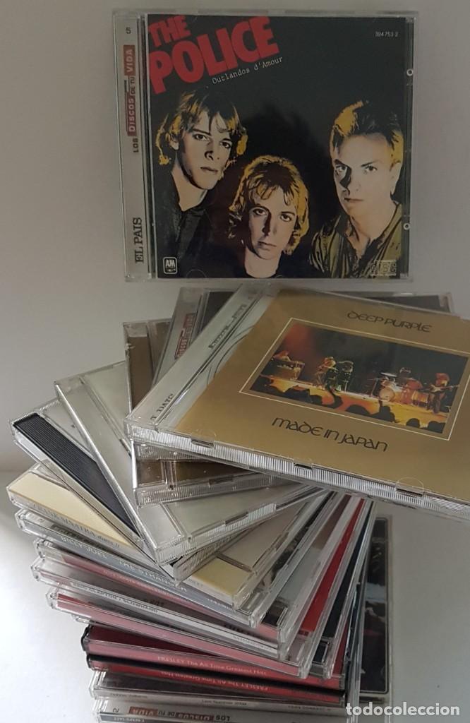 CDs de Música: 18 CDs DE MÚSICA DE LOS PRIMERÍSIMOS CANTANTES ; BOB DYLAN, ROLLINGS, MADONNA, PHIL COLLINS... - Foto 2 - 246743455