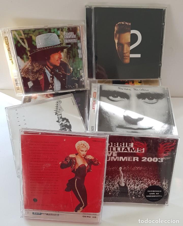 CDs de Música: 18 CDs DE MÚSICA DE LOS PRIMERÍSIMOS CANTANTES ; BOB DYLAN, ROLLINGS, MADONNA, PHIL COLLINS... - Foto 3 - 246743455