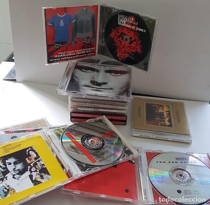 CDs de Música: 18 CDs DE MÚSICA DE LOS PRIMERÍSIMOS CANTANTES ; BOB DYLAN, ROLLINGS, MADONNA, PHIL COLLINS... - Foto 6 - 246743455