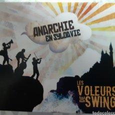 CDs de Música: MUSICA GOYO - CD ALBUM - LES VOLEURS DE SWING - ANARCHIE EN SYLDAVIE - RARÍSIMO - AA97. Lote 246775560