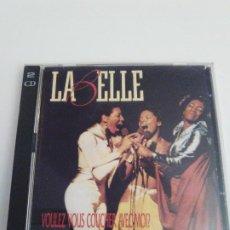 CDs de Música: LABELLE VOULEZ VOUS COUCHER AVEC MOI 2CD (1994 EPIC) ANTOLOGIA 28 CANCIONES EXCELENTE ESTADO. Lote 246781545