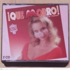 CDs de Música: QUE MORRO - LO TIENE TODO - 2 CD'S 1988 (MANGO, UB40, STING, BON JOVI, ELTON JOHN, SUPERTRAMP..). Lote 246793640