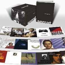 CDs de Música: JOAN MANUEL SERRAT * BOX SET 21 CD * DISCOGRAFÍA EN CASTELLANO * CAJA PRECINTADA!!. Lote 262243385