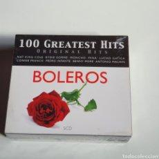 CDs de Música: PACK DE 5 CDS 100 GREATEST HITS, NUEVO SIN ESTRENAR PRECINTO ORIGINAL.. Lote 246860405