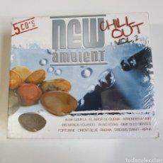 CDs de Música: PACK DE 5 CDS CHILL OUT VOL.2, NUEVO SIN ESTRENAR PRECINTO ORIGINAL, NEW AMBIENT.. Lote 246889885