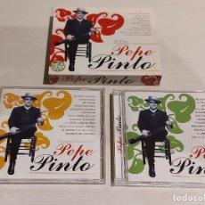 CDs de Música: PEPE PINTO / MISMO TÍTULO / PACK - DOBLE CD - OK RECORDS-2005 / 24 TEMAS / DE LUJO.. Lote 246968550