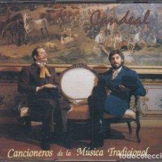 CDs de Música: CANDEAL - CANCIONEROS DE LA MUSICA TRADICIONAL - FOLKLORE CASTELLANO - DOBLE CD. Lote 247077645