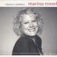 CDs de Música: MARINA ROSSELL - CLASSICS CATALANS - DOBLE CD CON 19 CANCIONES TRADICIONALES CATALANAS. Lote 247084345