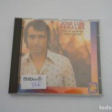CDs de Música: CD - JOSE LUIS PERALES - POR SI QUIERES CONOCERME / DIFUSION. Lote 247196330