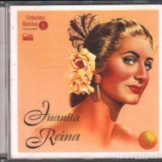 CDs de Música: JUANITA REINA - COLECCION GRABACIONES HISTORICAS / CD ALBUM DE 1996 / MUY BUEN ESTADO RF-9298. Lote 247200230