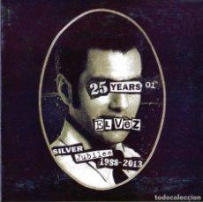 CDs de Música: EL VEZ – GOD SAVE THE KING - 25 YEARS OF EL VEZ. Lote 247206145