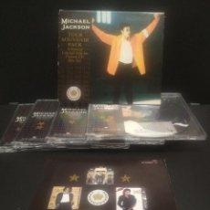CDs de Música: MICHAEL JACKSON TOUR SOUVENIR PACK BOX/CD UK 1992 PDELUXE. Lote 247278145