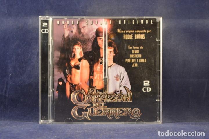 EL CORAZÓN DEL GUERRERO - BANDA SONORA ORIGINAL - 2 CD (Música - CD's Bandas Sonoras)