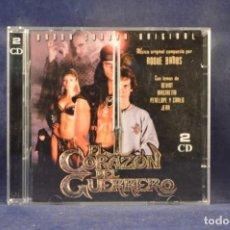 CDs de Música: EL CORAZÓN DEL GUERRERO - BANDA SONORA ORIGINAL - 2 CD. Lote 247299885