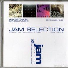 CDs de Música: JAM SELECTION - VOLUME DOS - DJ'S RICKY, SHELLY & ROBIN. Lote 247328850