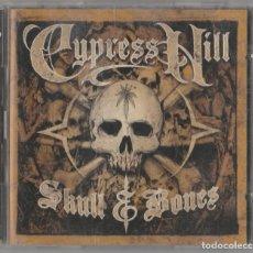 CD di Musica: 3 CD-S CYPRESS HILL - SKULL & BONES - SONED RAIDERS - UNRELEASED REVAMPED. Lote 247374175