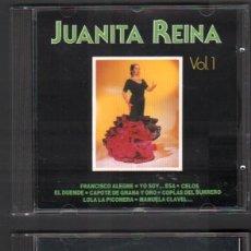 CDs de Música: JUANITA REINA - VOL. 1 Y VOL. 2 / DOBLE CD ALBUM DE 1991 / MUY BUEN ESTADO RF-9339. Lote 247412395