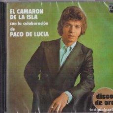 CDs de Música: CAMARON CON PACO DE LUCIA DISCO DE ORO CD NUEVO PRECINTADO. Lote 247429125