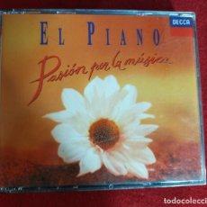 CDs de Música: EL PIANO: PASIÓN POR LA MÚSICA. 2 CDS.. Lote 247443985