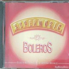 CDs de Música: CD / SUPERMUSIC - BOLEROS, 1995. Lote 247484065