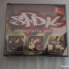 CDs de Música: TRIPLE CD - SFDK – DISCOGRAFÍA BÁSICA: SIEMPRE FUERTES / DESDE LOS CHIQUEROS / 2001 ODISEA EN EL LOD. Lote 247484700