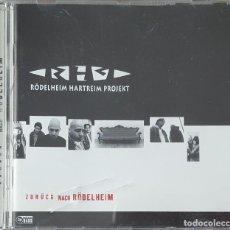 CDs de Música: CD / RÖDELHEIM HARTREIM PROJEKT – ZURÜCK NACH RÖDELHEIM, 1996. Lote 247549435
