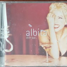 CDs de Música: CD / ALBITA - DICEN QUE..., 1996 USA. Lote 247550835