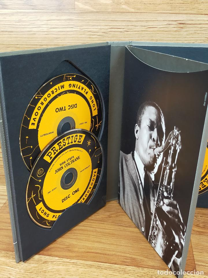 CDs de Música: JOHN COLTRANE:SIDE STEPS - SET CDS Y LIBRETO CD - Foto 7 - 247560155