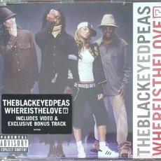 CDs de Música: CD SINGLE / THE BLACK EYED PEAS - WHERE IS THE LOVE?, 2003. Lote 247579615