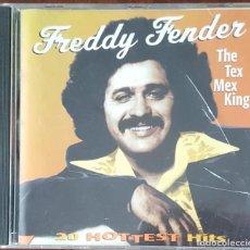 CDs de Música: CD / FREDDY FENDER - THE TEX MEX KING, 1996, INGLETERRA, COMO NUEVO. Lote 247653845