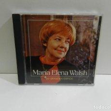 CDs de Musique: DISCO CD. MARÍA ELENA WALSH – 20 GRANDES ÉXITOS. COMPACT DISC.. Lote 247744810
