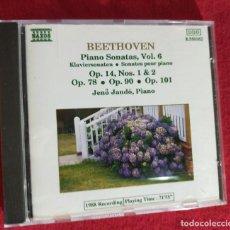 CDs de Música: BEETHOVEEN - PIANO SONATAS VOL.6 - CD. Lote 247794545
