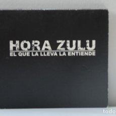 CD di Musica: CD HORA ZULU - EL QUE LA LLEVA LA ENTIENDE. Lote 247770395