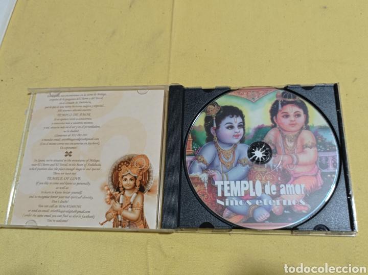 CDs de Música: CD TEMPLO DE AMOR NIÑOS ETERNOS - Foto 2 - 247799385