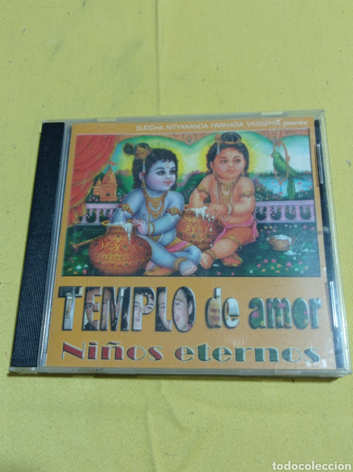 CD TEMPLO DE AMOR NIÑOS ETERNOS (Música - CD's Melódica )