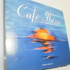 CDs de Música: CD CAFÉ IBIZA.BEST OF BALEARIC AMBIENT AND CHILL OUT MUSIC. VOLUME SEVEN. 25 TEMAS (SEMINUEVO). Lote 247930675
