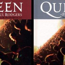 CD di Musica: C50 - QUEEN + PAUL RODGERS. RETURN OF THE CHAMPIONS VOL. 1 + 2. 2 X LIBRO CD. DIGIBOOK. NUEVOS. Lote 247992950