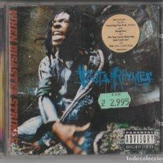 CDs de Música: CD BUSTA RHYMES - WHEN DISASTER STRIKES... - HIP HOP. Lote 248009475