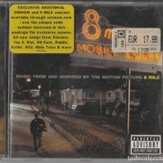 CDs de Música: CD RECOPILATORIO 8 MILE. - EMINEM - HIP HOP. Lote 248014480