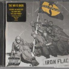 CDs de Música: CD WU TANG CLAN -IRON FLAG- HIP HOP. Lote 248016090