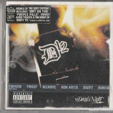 CDs de Música: CD D12 - DEVILS NIGHT- EDICION LIMITADA DOBLE CD - HIP HOP. Lote 248017580