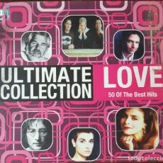 CDs de Música: CD TRIPLE 3 CD'S / THE ULTIMATE COLLECTION - LOVE, 2008. Lote 248061490