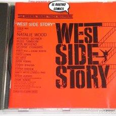 CDs de Musique: WEST SIDE STORY, LEONARD BERNSTEIN, CD CBS, BSO, B S O, MUSICAL. Lote 248081480