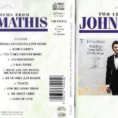 CDs de Música: JOHNNY MATHIS - RAINDROPS KEEP FALLIN' ON MY HEAD / LOVE STORY. Lote 248127910