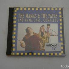 CDs de Musique: COMO NUEVO - CD - THE MAMAS & THE PAPAS AND MAMA CASS... COMPLETE. Lote 248148480