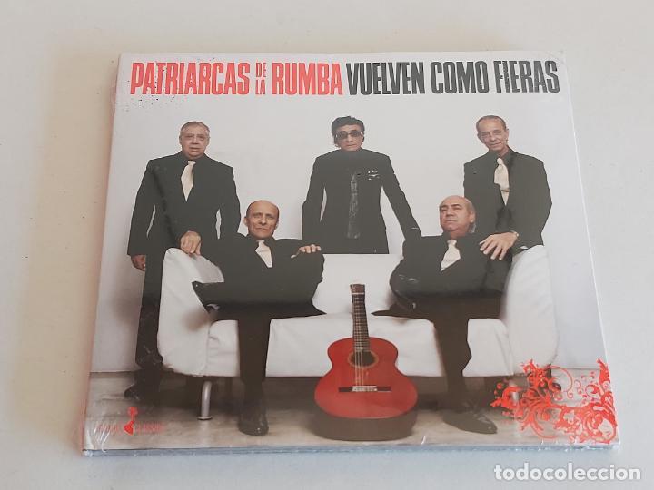 PATRIARCAS DE LA RUMBA / VUELVEN COMO FIERAS / DIGIPACK-CD-2008 / 11 TEMAS / PRECINTADO. (Música - CD's Flamenco, Canción española y Cuplé)